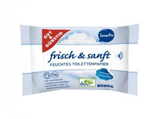 G&G Toaletní vlhčený papír 70ks sensitiv