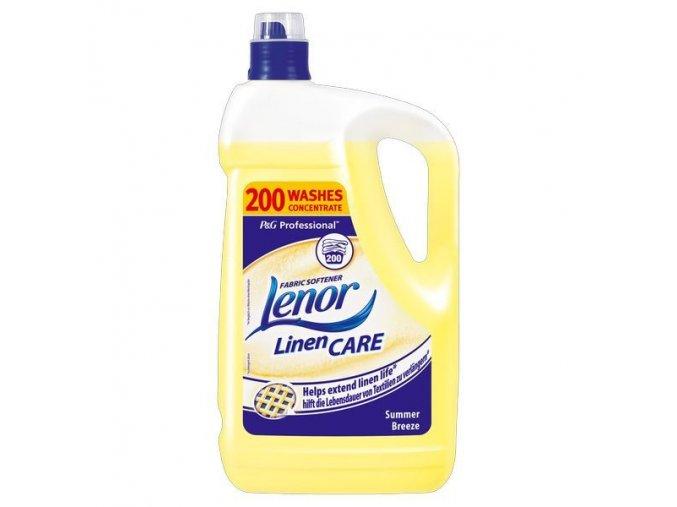 Lenor Summer 5L - 200 dávek - žlutý