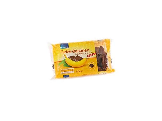 banánky v čokoládě