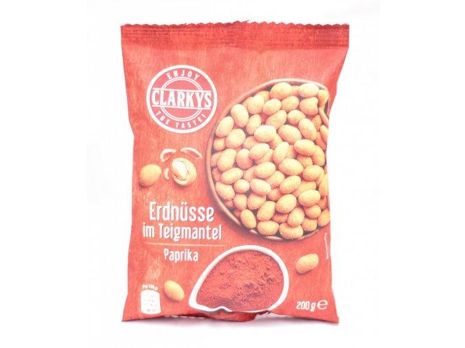 Clarkys arašídy v těstíčku paprika 200g