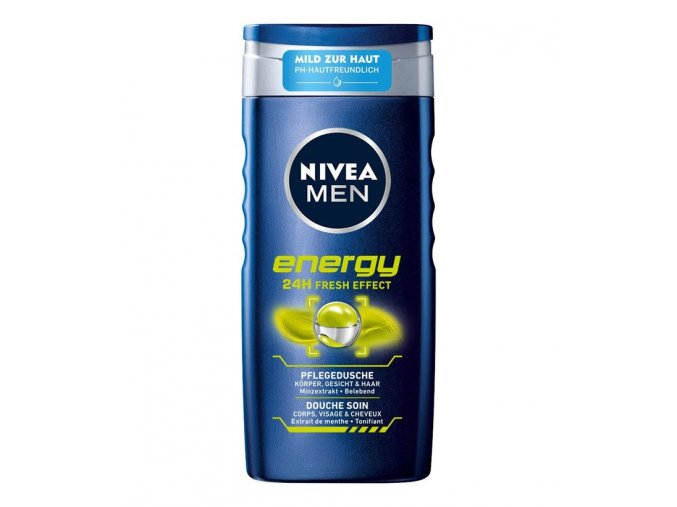 NIVEA MEN energy sprchový gel 3in1 250ml