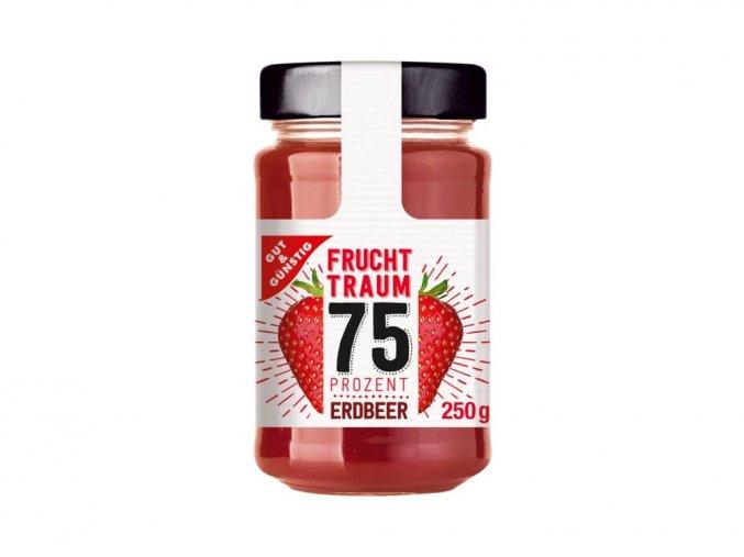 263000 1 g g premium jahodovy dzem se 75 ovoce 250g