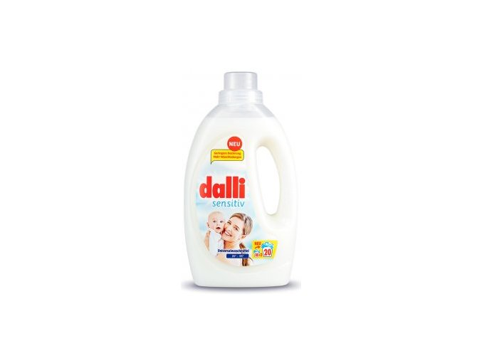 72989 dalli sensitiv gel na prani pro citlivou pokozku 20 davek 1 1 l