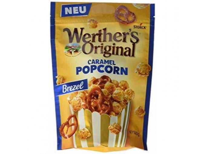 Werther's Original Caramel Popcorn Brezel 140g