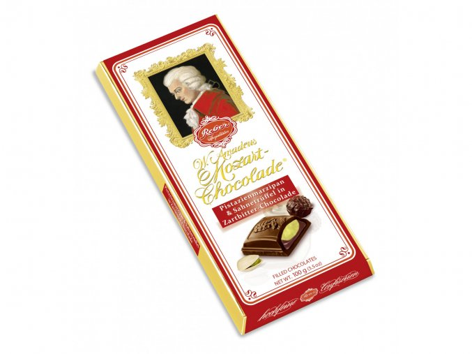 4001 50 Wolfgang Amadeus Mozart Chocolate Bar in dark chocolate 1600x1200