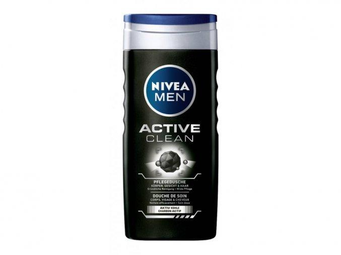 4659 nivea men active clean sprchovy gel 250 ml