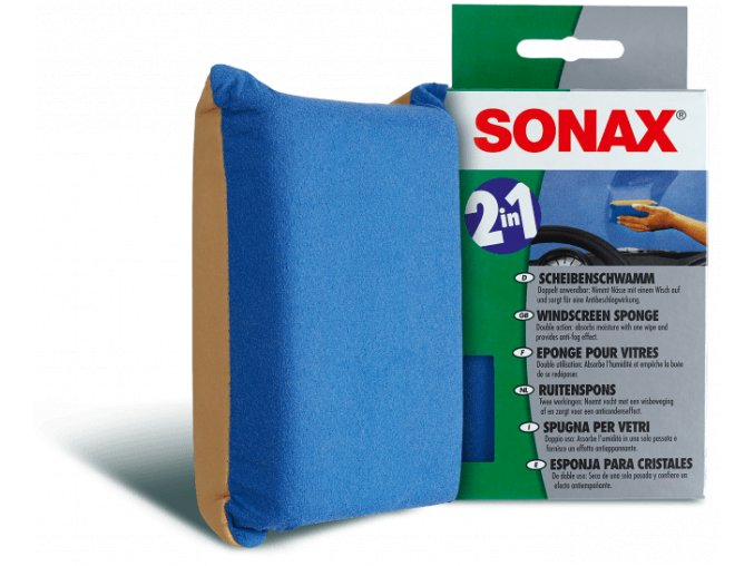 Sonax Houba na skla 1 ks
