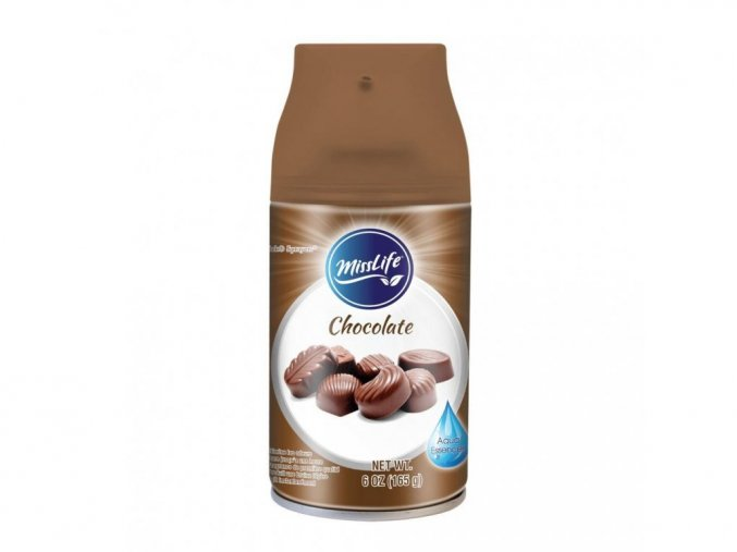 9792 misslife 250ml osvezovac nahr napln chocolate 8694587575147
