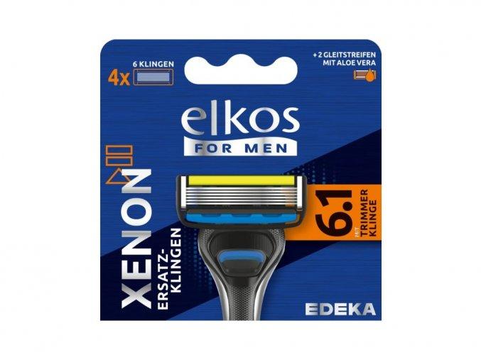 4788 elkos men xenon premium nahradni holici hlavice 4 ks