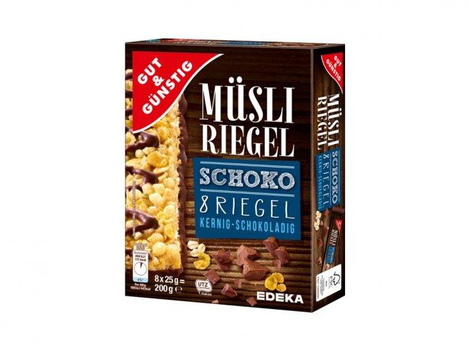 1160 1 g g musli tycinky s cokoladou 8ks 200g