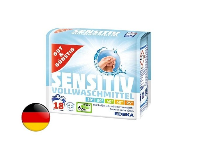 2527 g g sensitiv praci prasek pro citlivou pokozku 1 215 kg