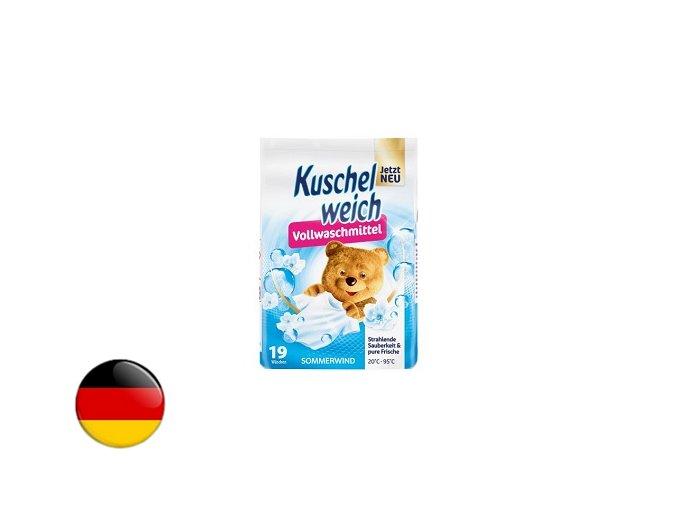 kuschelweich vollwaschmittel pulver sommerwind