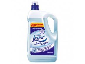 Lenor Linen Care Aprilfrisch 5L - 200 dávek - modrý