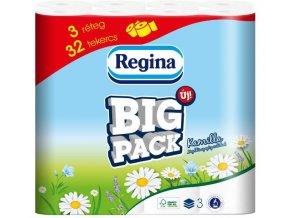 Toaletní papír Regina Big Pack Kamilla 32ks - 3-vr.-heřmánek