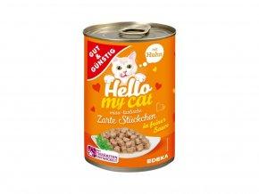krmivo pro kočky oranžová