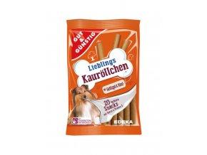 krmivo pro psi odměna oranžová