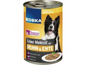 edeka feine mahlzeit mit geflgel hundefutter nass(1)