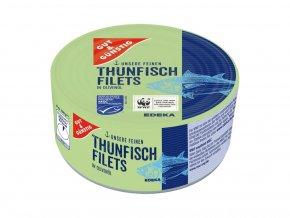 4055 1 g g filety z tunaka se zeleninou v dresinku 185g