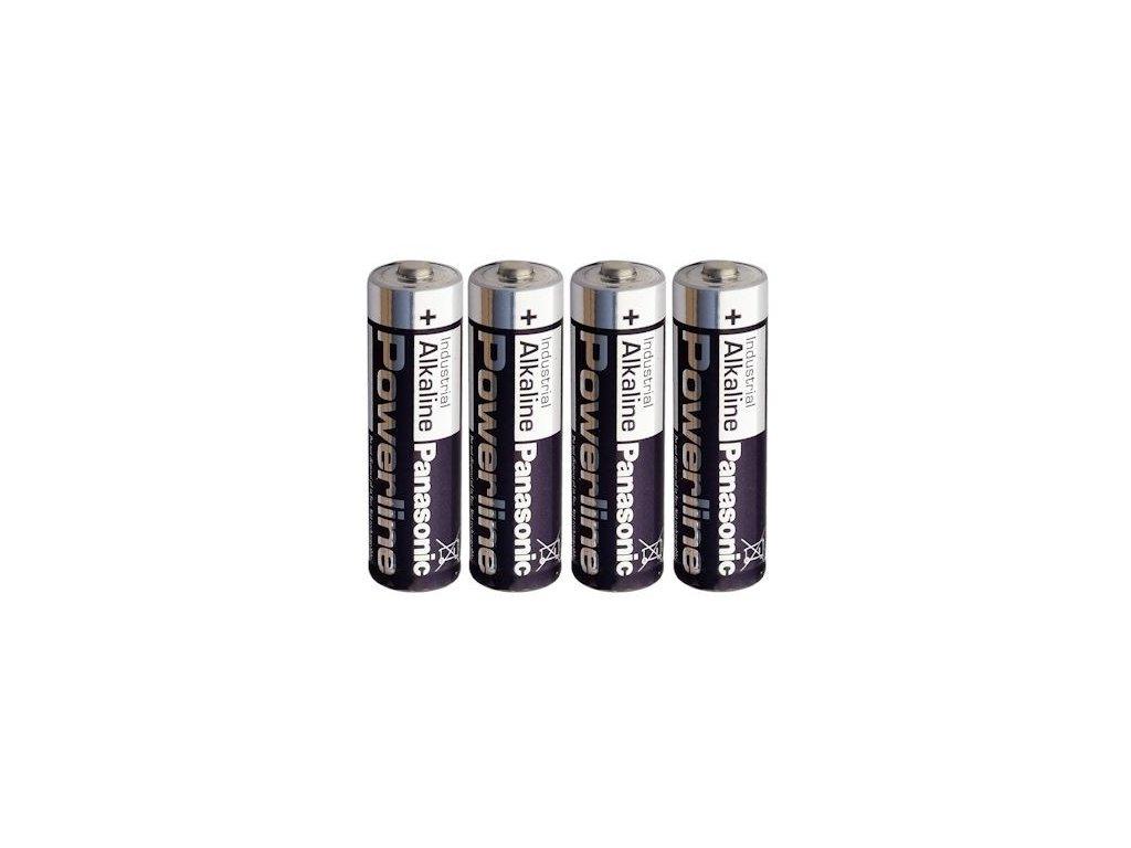 1386 baterie panasonic powerline industrial aa 4ks shrink