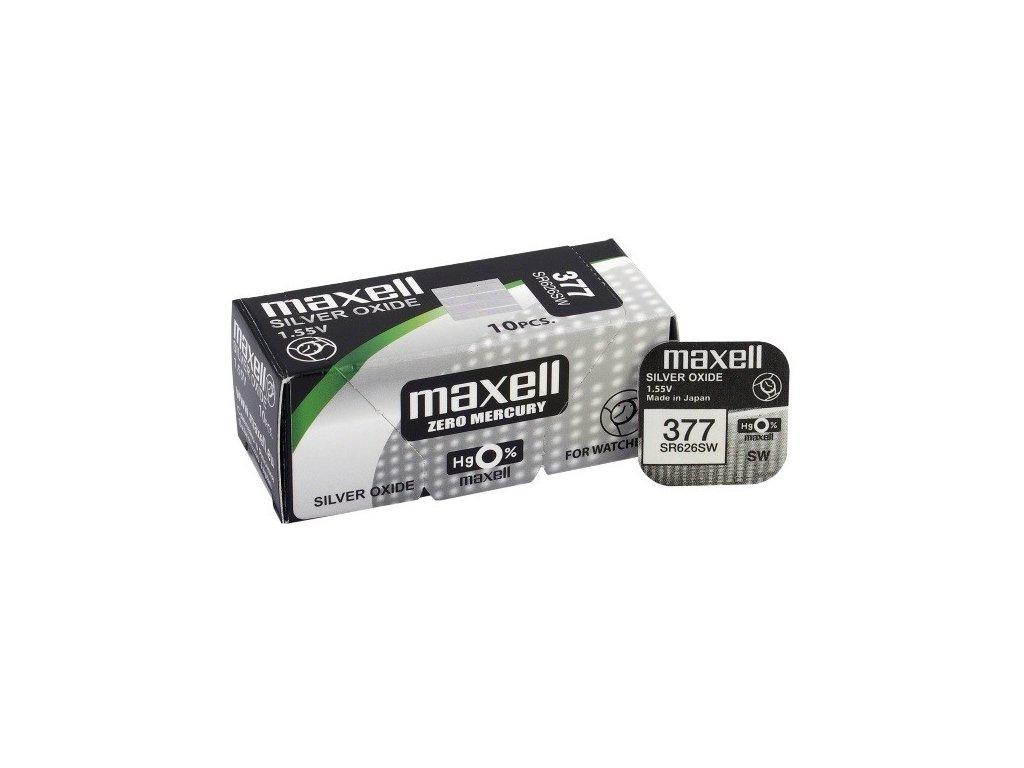 1722 baterie maxell 377 376 sr626sw 10ks