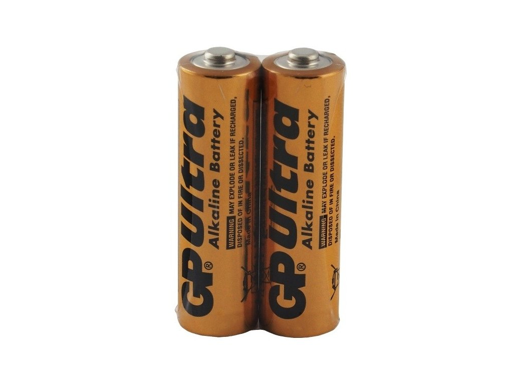 1776 baterie gp ultra alkaline industrial aa 2ks shrink