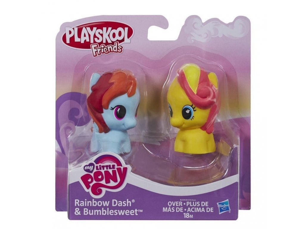 1938 hasbro my little pony ponik rainbow dash a bumblesweet