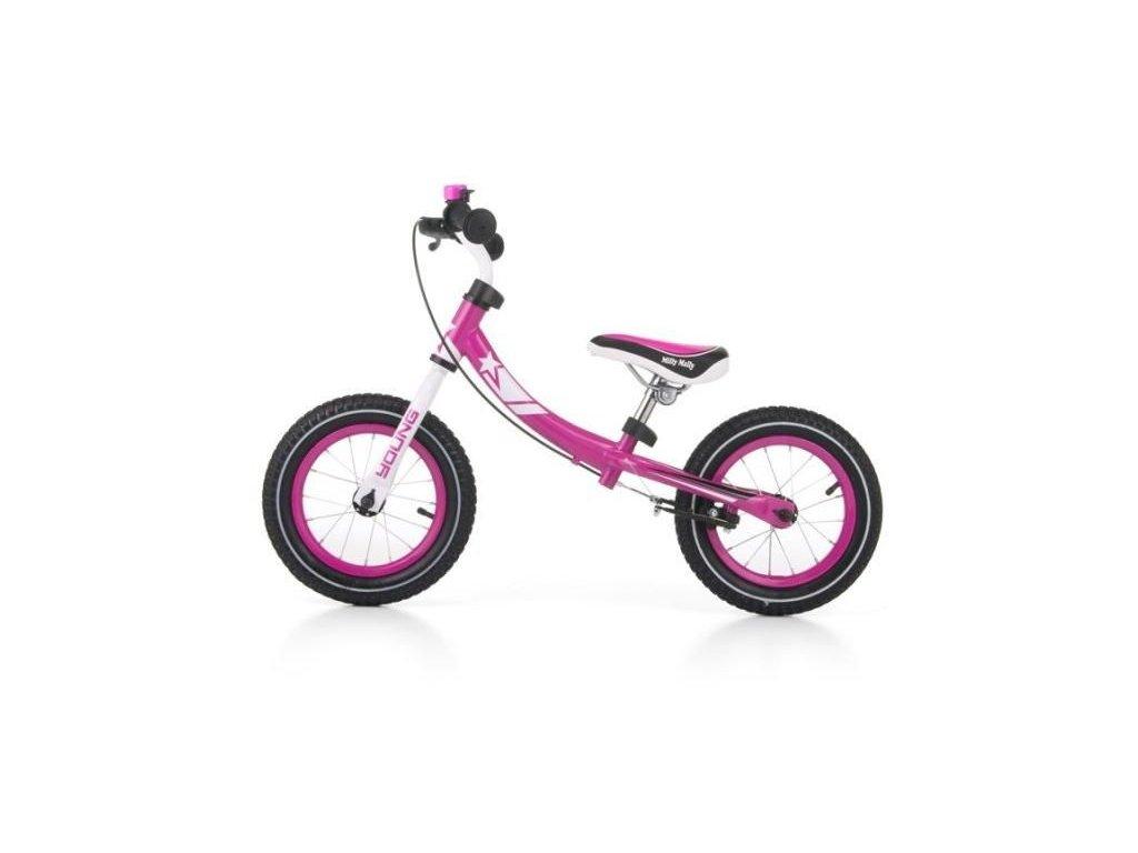 2094 detske odrazedlo kolo milly mally young pink