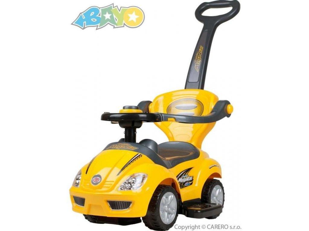 2115 detske jezditko 3v1 bayo mega car yellow