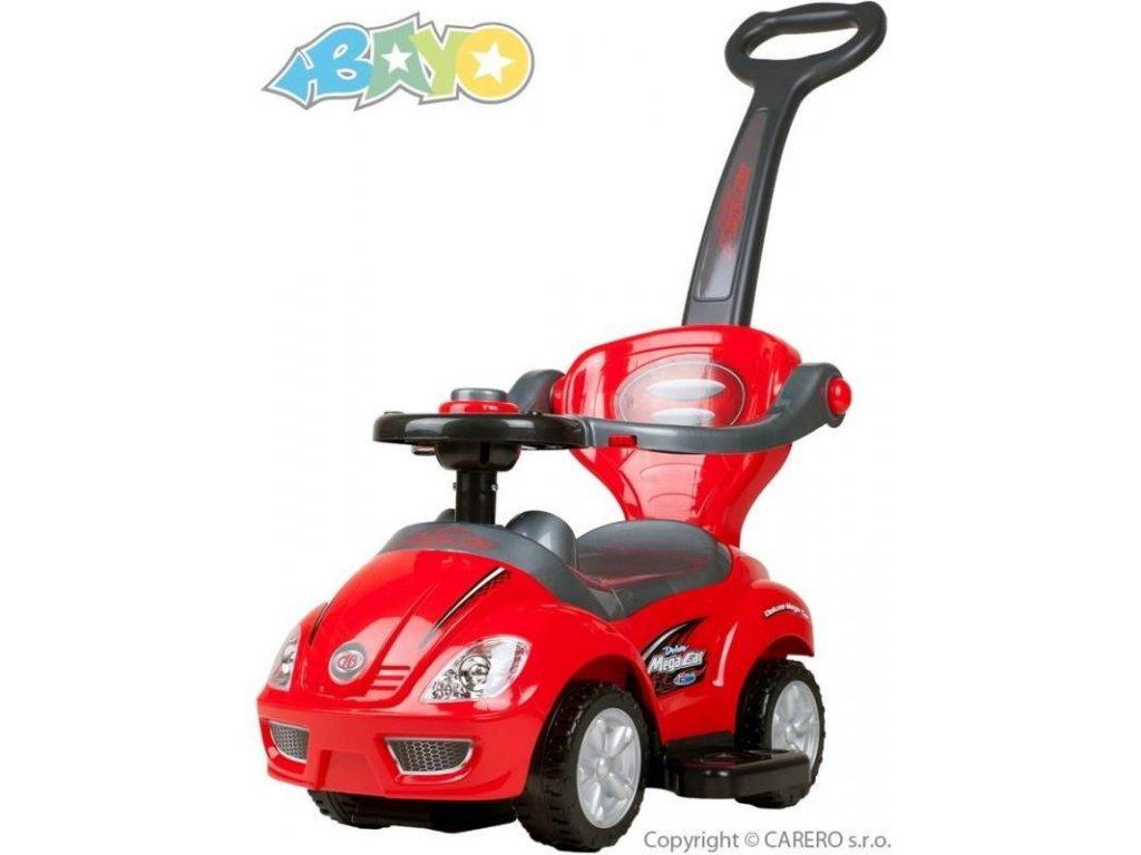 2118 detske jezditko 3v1 bayo mega car red