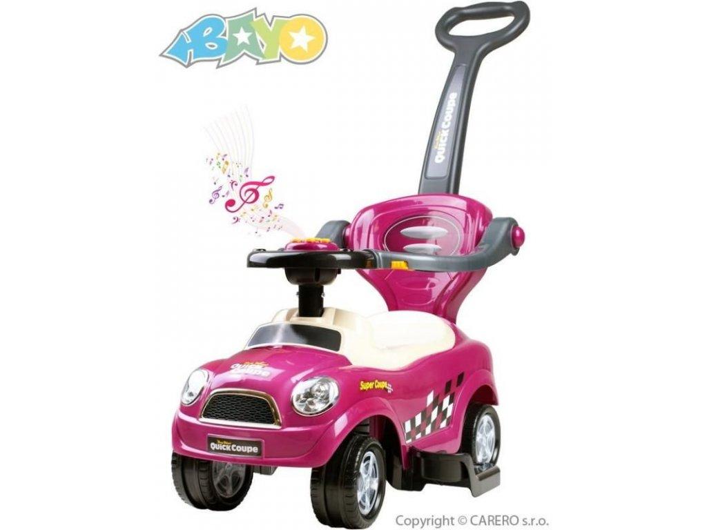 2124 detske hrajici jezditko 3v1 bayo super coupe purple