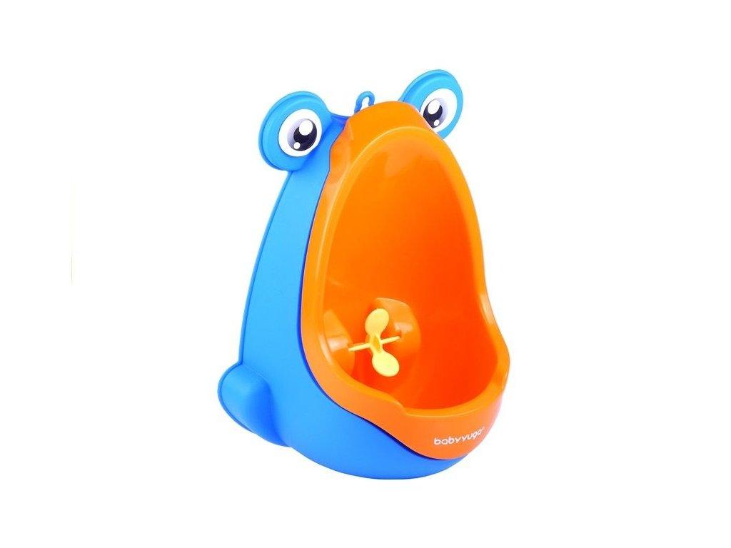 2271 toys24 detsky pisoar zaba oranzovy