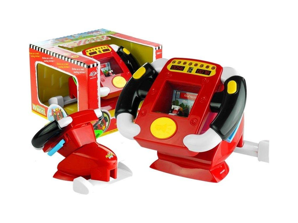 2289 toys24 interaktivni volant pro nejmensi