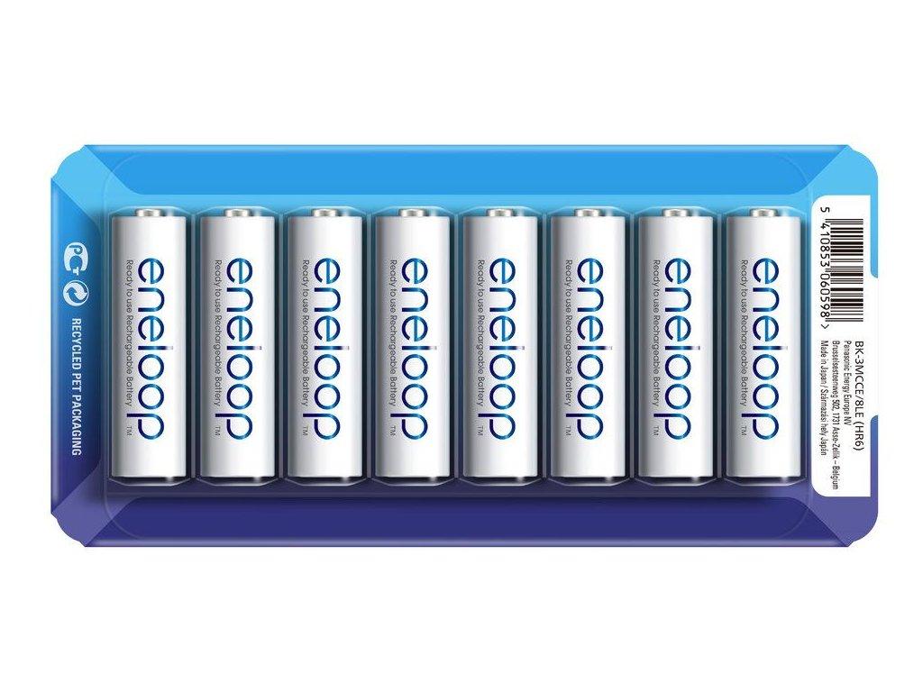 2295 baterie panasonic eneloop aa 2000mah bk 3mcce 8ks