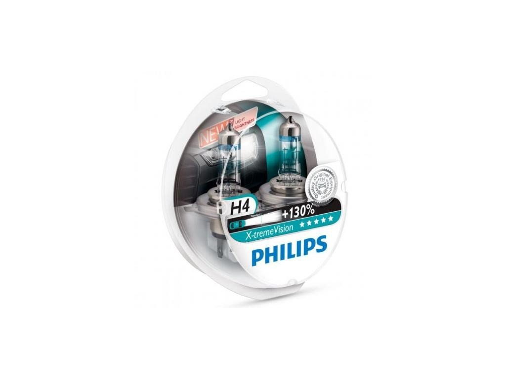 231 zarovka philips h4 x treme vision duo pack