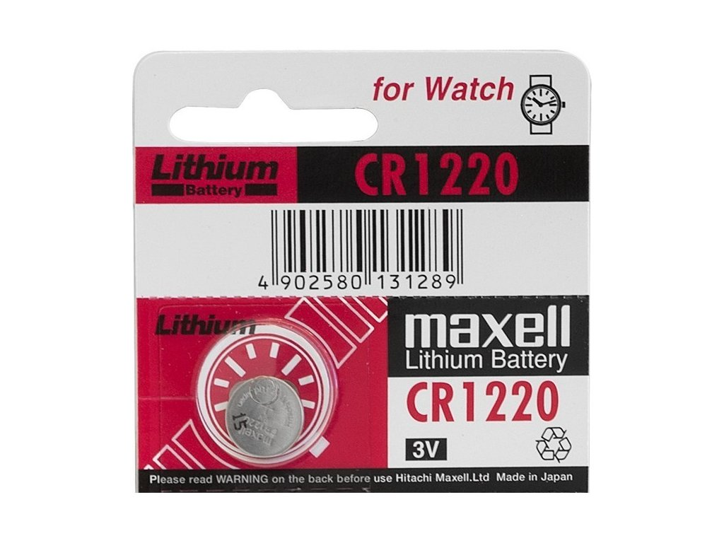 249 baterie maxell cr1220 1ks blistr