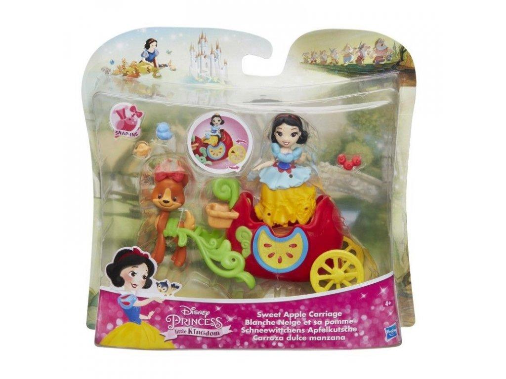 2535 hasbro disney princess mini hraci set s panenkou snehurka s kocarem