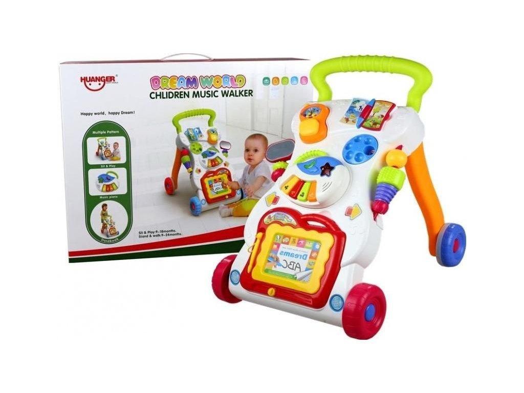 2589 toys24 interaktivni choditko telefon 3v1