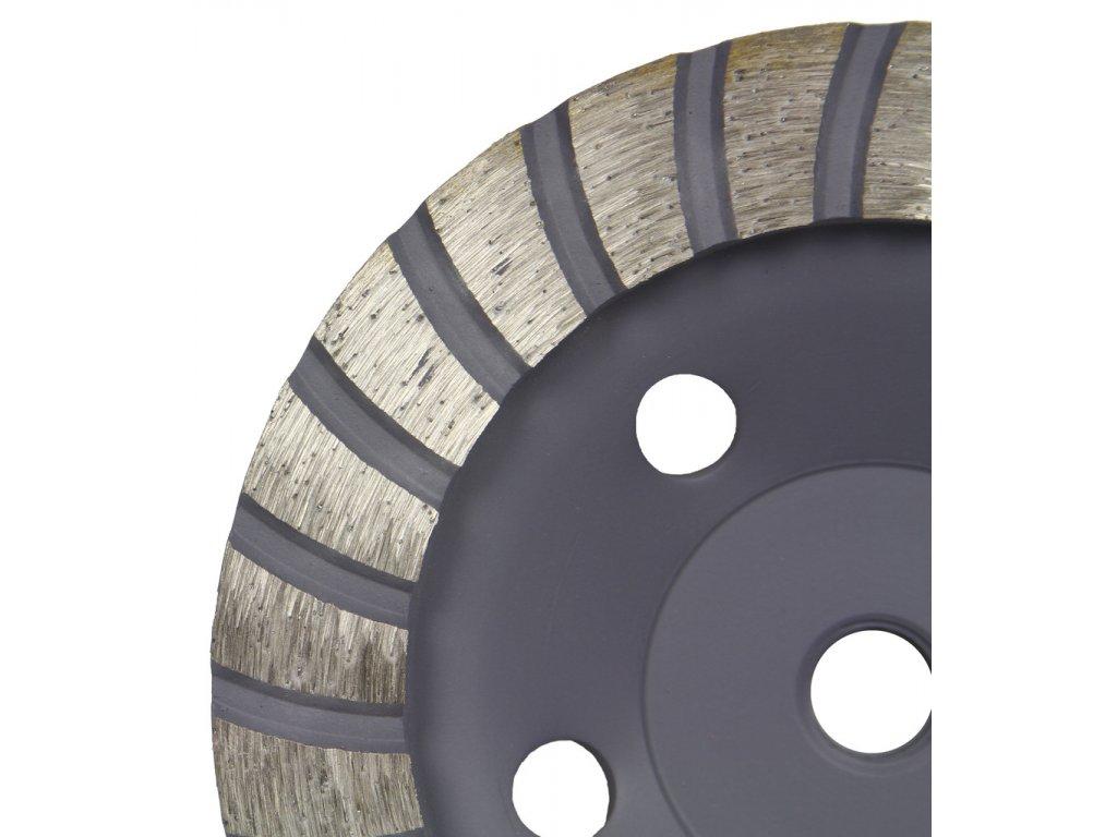 2985 kotouc brusny diamantovy na beton 125mm m14 turbo mar pol m08788