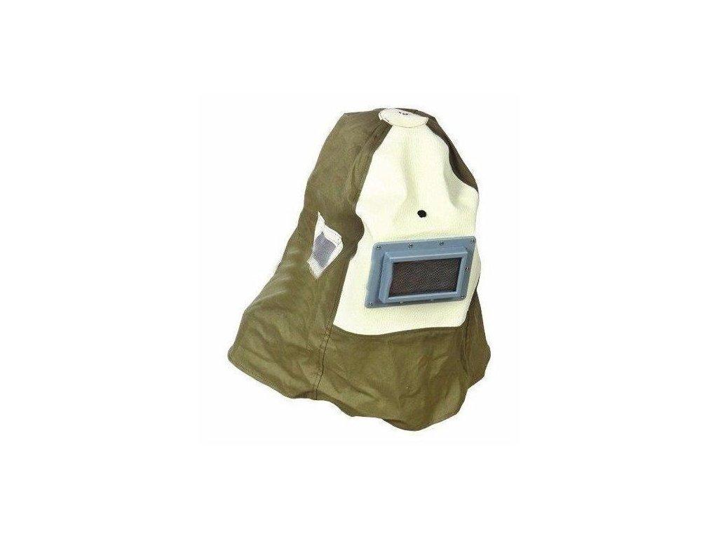 3198 ochranna maska s prilbou na piskovani geko g02023