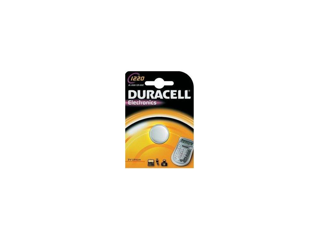 333 baterie duracell cr1220 1ks blistr