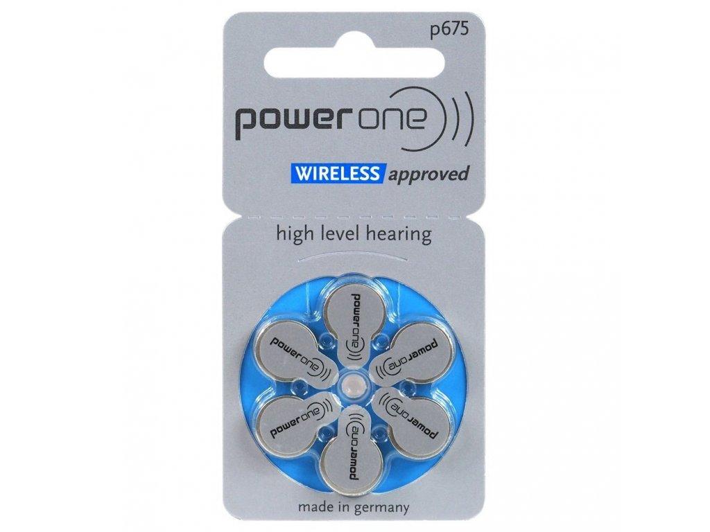 486 baterie do naslouchadel varta power one 675 6ks blistr