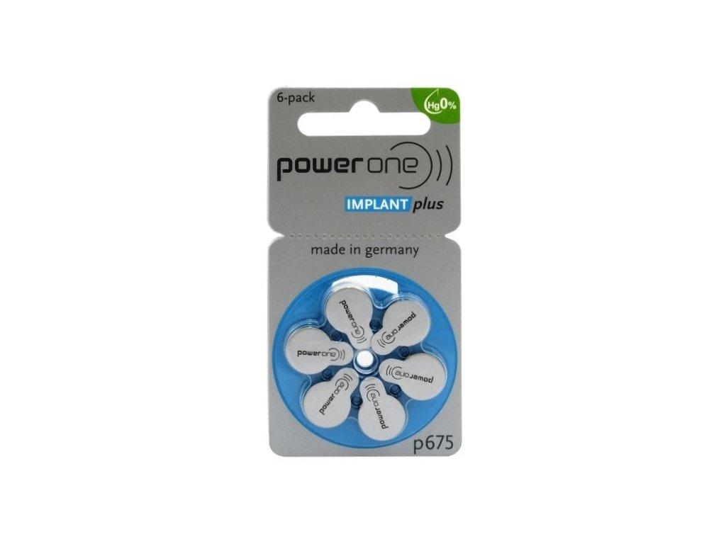 489 baterie do naslouchadel varta power one 675 implant plus mf 6ks blistr
