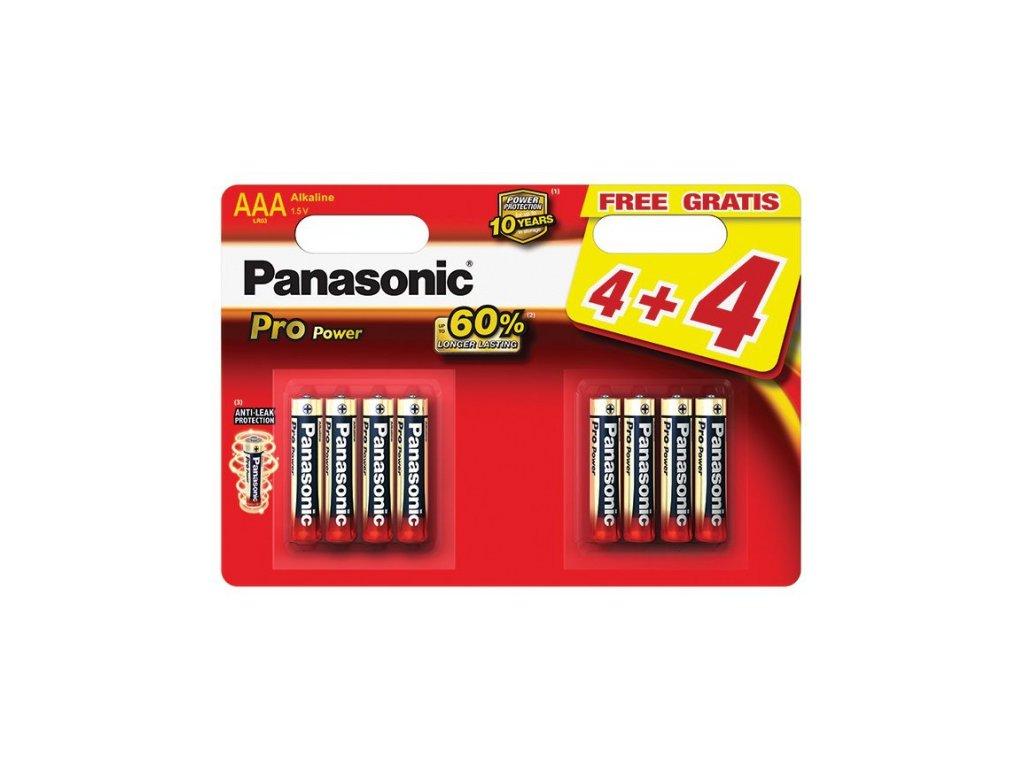 528 baterie panasonic pro power aaa 8ks blistr