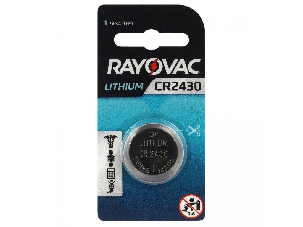 531 baterie rayovac cr2430 1ks blistr