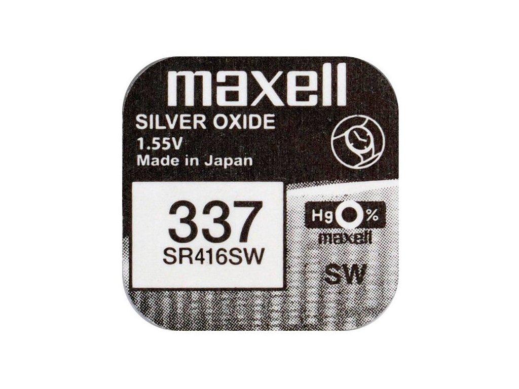567 baterie maxell 337 sr416sw 1ks