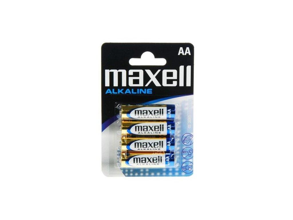 570 baterie maxell alkaline aa 4ks blistr