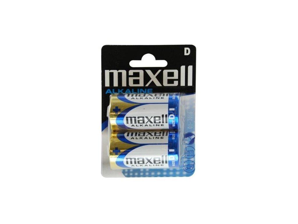 579 baterie maxell alkaline d 2ks blistr