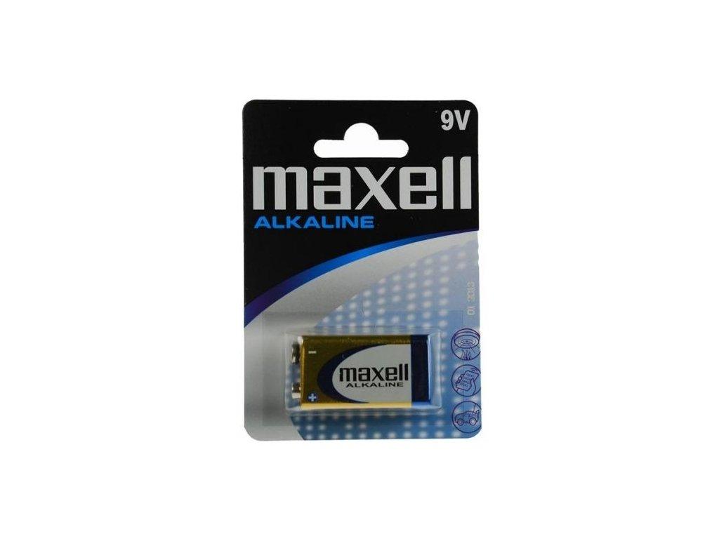 582 baterie maxell alkaline 9v 1ks blistr