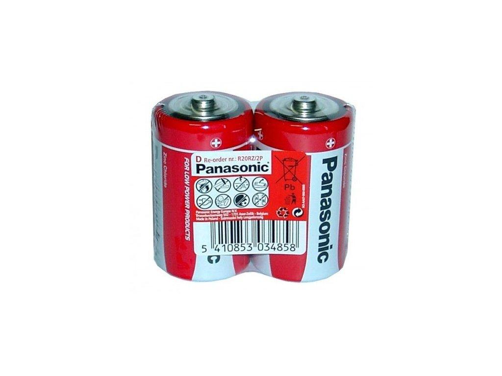 654 baterie panasonic d 2ks bulk