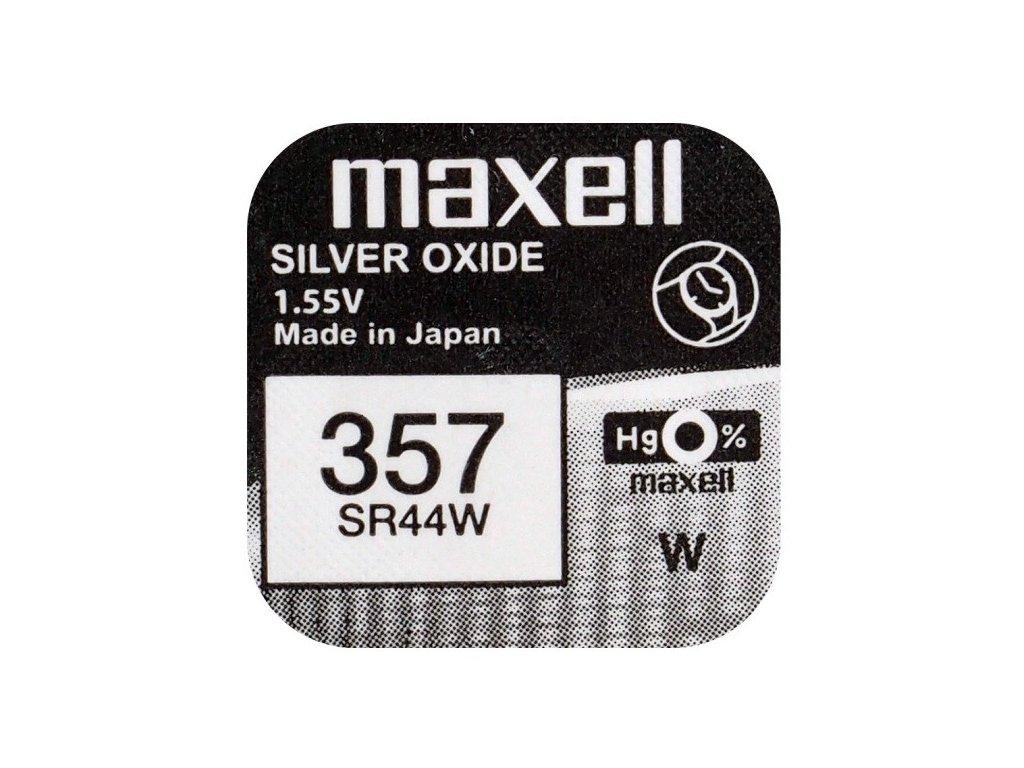738 baterie maxell 357 303 sr44sw 1ks